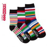 United Oddsocks Boys9  - pack of 3 boy's odd socks (not pairs).